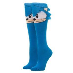 452d4ee2fd55 Sonic the Hedgehog Knee High Socks SEGA Women s